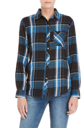 C&C California Plaid Patch Pocket Shirt
