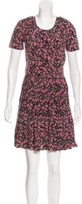 The Kooples Silk Floral Dress