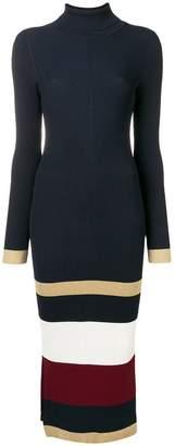 Tommy Hilfiger colour-block sweater midi dress