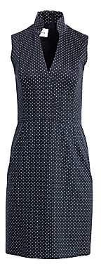 Akris Punto Women's Polka Dot A-line Dress