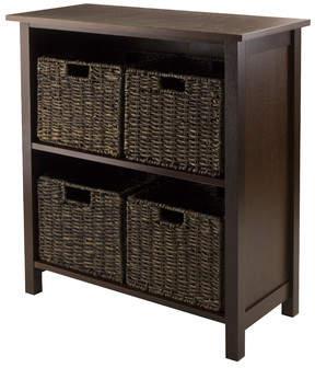 Three Posts Champlain 4 Drawers Storage Shelf