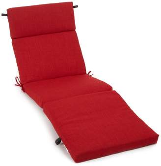 Three Posts Indoor/Outdoor Chaise Lounge Cushion