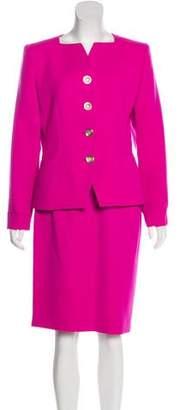 Saint Laurent Skirt Suit Set