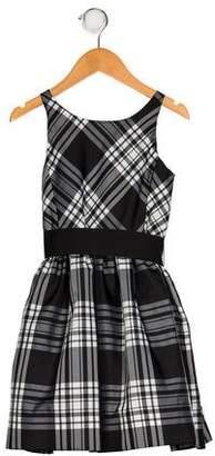 Polo Ralph Lauren Girls' Plaid Flare Dress