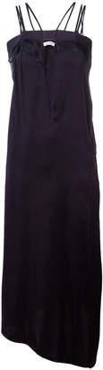Dondup long cut-out dress