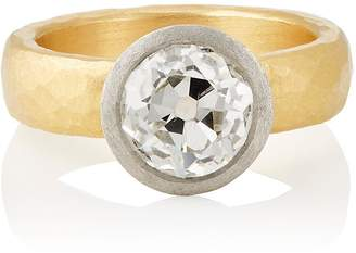 Malcolm Betts Women's White Diamond Ring