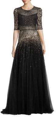 Jenny Packham Sequin Embellished Gown $7,065 thestylecure.com