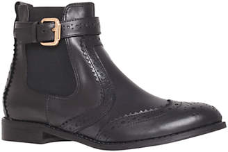 Carvela Slow Leather Chelsea Boots, Black