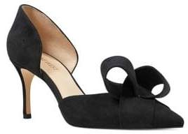 Nine West Mcfally Suede D'Orsay Pumps