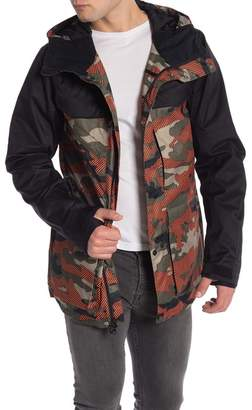Oakley Timber FN Dry 15K Waterproof Hooded Parka Jacket