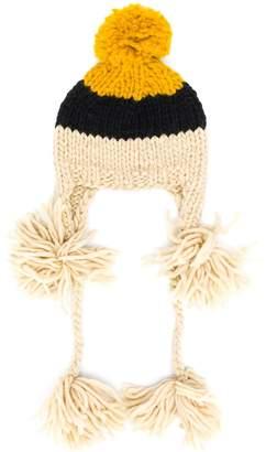 SuperDuper Hats Super Duper Hats colour-block beanie hat