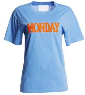 Alberta Ferretti Days Of The Week Monday T-Shirt