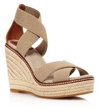 Tory Burch Women's Frieda Wedge Heel Espadrille Sandals