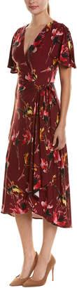Eva Franco Faux Wrap Dress