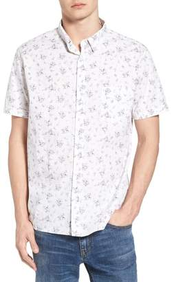 Rails Carson Slim Fit Floral Print Sport Shirt