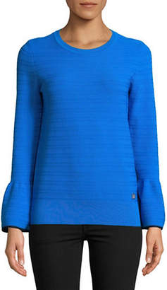 Tommy Hilfiger Bell-Sleeve Pullover