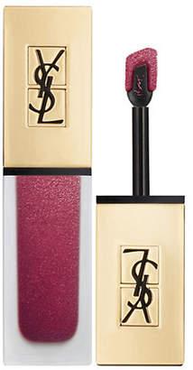 Saint Laurent Tatouage Couture The Metallics Liquid Lip Stain