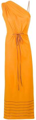 Loewe long one-shoulder dress