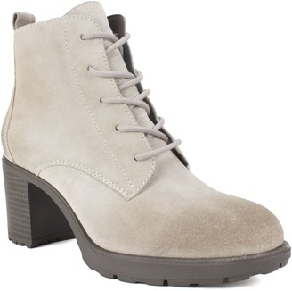 White Mountain Lace-Up Hiker-Inspired Ankle Boots - Gilman