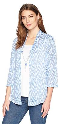 Alfred Dunner Women's Zig Zag Two for One