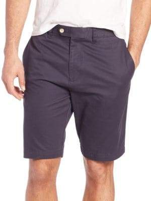 Saks Fifth Avenue COLLECTION Solid Cotton Shorts