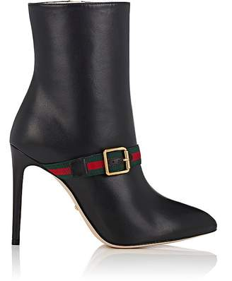 Gucci Women's Sylvie Leather Ankle Boots