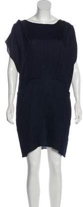 Marni Cap Sleeve Mini Dress