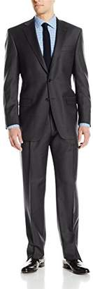 Hart Schaffner Marx Men's 2 Button Chicago Fit Suit with Single Pleat Pant
