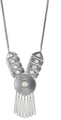 Lucky Brand Medallion Pendant Necklace
