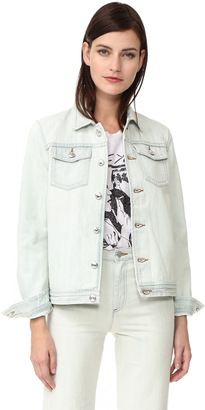 A.P.C. Shirley Denim Jacket $310 thestylecure.com
