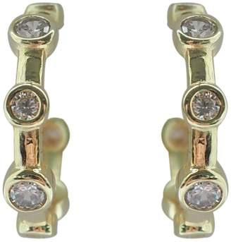 Wild Hearts - Orbit Hoop Earrings Gold