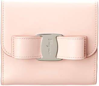 Salvatore Ferragamo Vara Leather Bifold Wallet