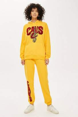 Topshop UNK X Chenille Cavs Joggers by Unk x