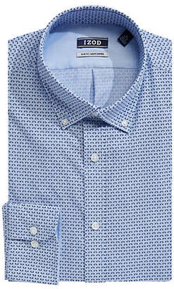 Izod Printed Dress Shirt