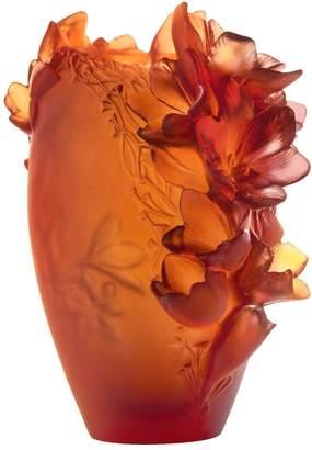 Daum Medium Safran Vase