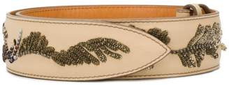 Acne Studios embroidered leather belt