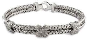 EFFY COLLECTION Sterling Silver & Diamond Bracelet