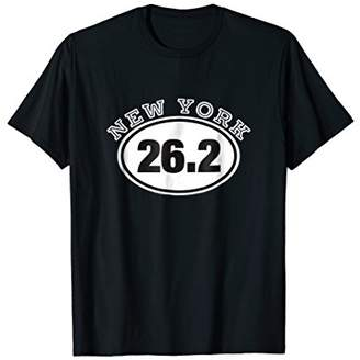New York City 26.2 Running Shirt Tshirt