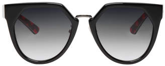 McQ Black Suspiria Cat-Eye Sunglasses