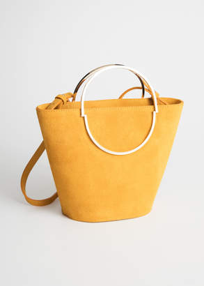 And other stories Suede Bucket Bag