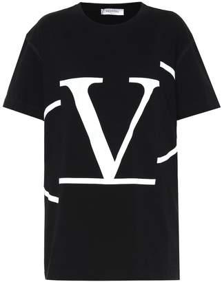 Valentino Go Logo cotton T-shirt