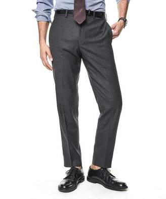 Todd Snyder White Label Sutton Stretch Tropical Wool Suit Trouser In Dark Charcoal