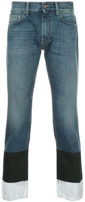 Ports V colour block jeans