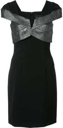 Nicole Miller metallic top dress $440 thestylecure.com