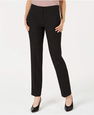 Bar III Pinstriped Trousers, Created for Macy's