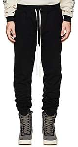 Fear Of God Men's Ankle-Zip Cotton Slim Sweatpants - Black