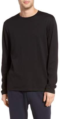 Vince Drop Hem Crewneck T-Shirt