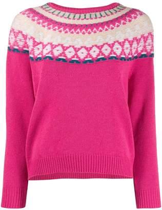 Lamberto Losani patterned jumper