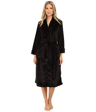 Natori N by Cashmere-Feel Fleece Robe