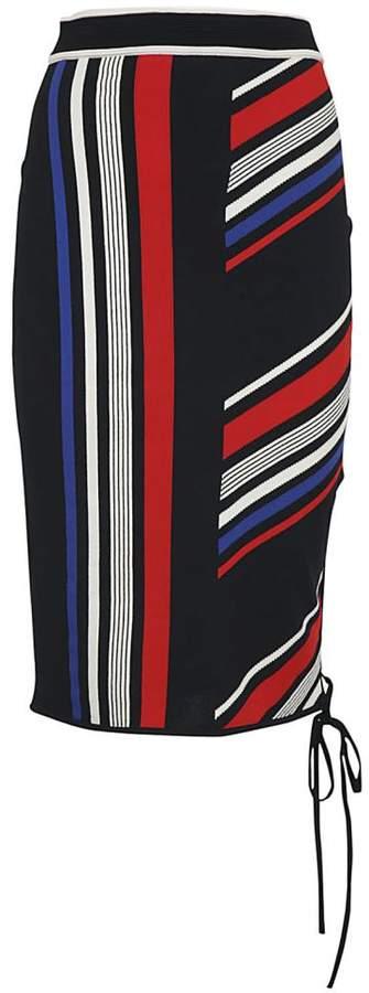 Tommy Hilfiger D Striped Skirt